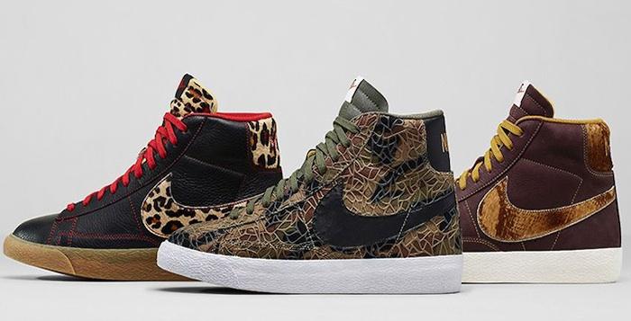 Nike Blazer Mid PRM Vintage Safari Collection