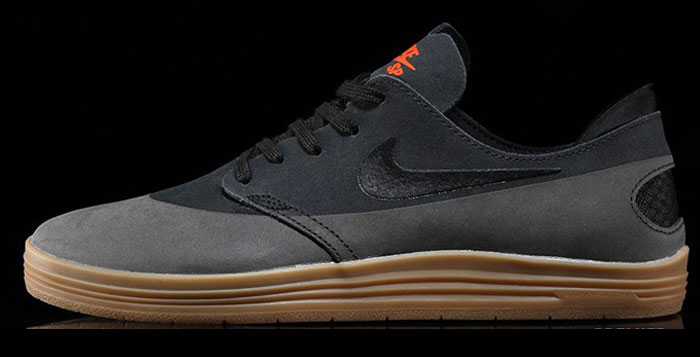 Nike Sb Lunar Oneshot Black Gum