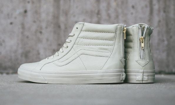 vans sk8 hi zip ca boot leather