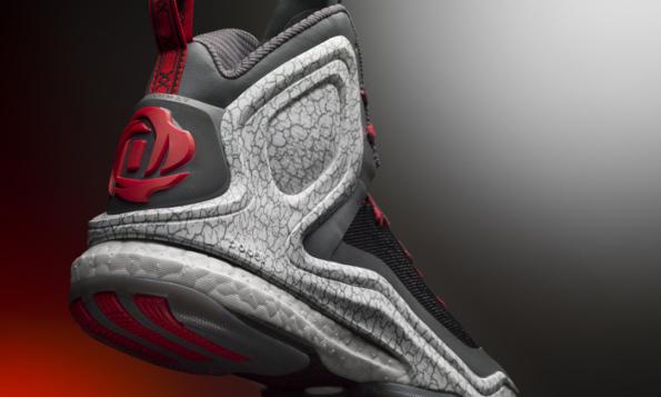 adidas d rose 5 boost grey