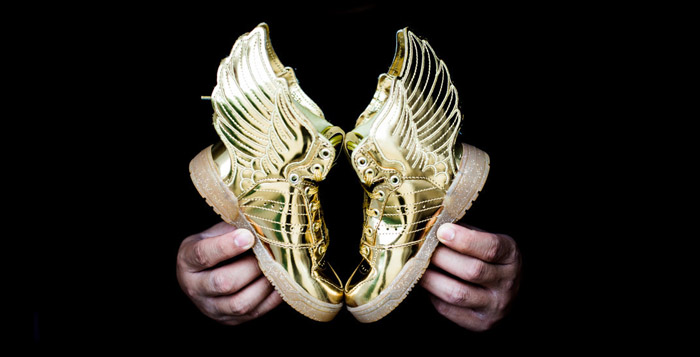 """Adidas JS Wings 2.0 Infant """"Gold Metal"""""""