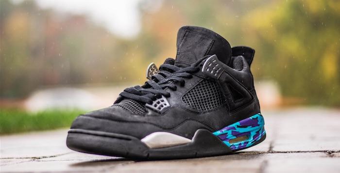 """Air Jordan 4 """"Aqua"""" Custom"""