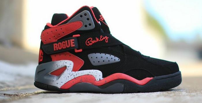 Ewing Rogue Black/Red-Pewter