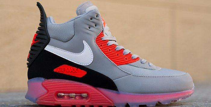 Nike Air Max 90 Sneakerboot ICE Grey