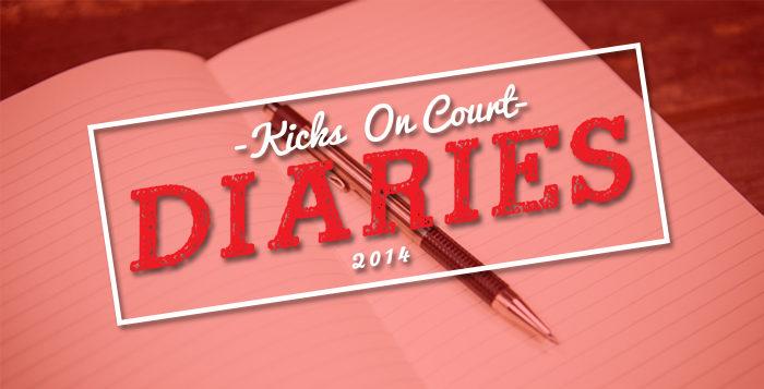 Kicks On Court Diaries