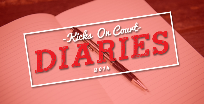 Kicks On Court Diaries 2014 Series Recap