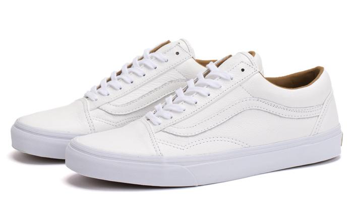 Vans Leather White