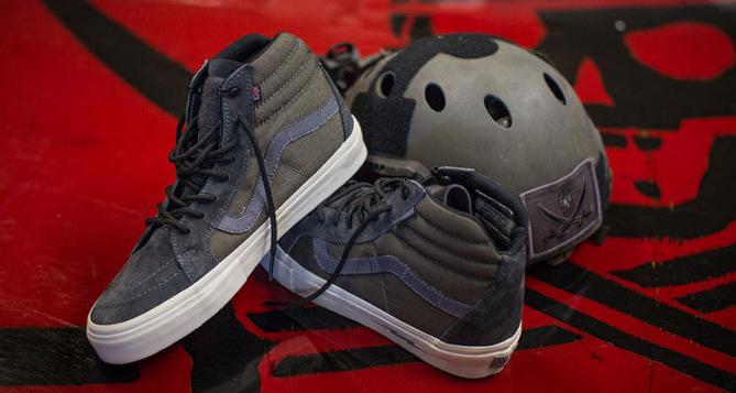 Vans SK8 HI Syndicate Defcon X Notchback Pro S Mas Grey