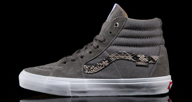 Vans Sk8-Hi Pro Snake Grey