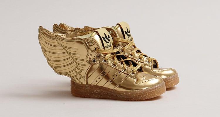 adidas js wings 2 metallic gold