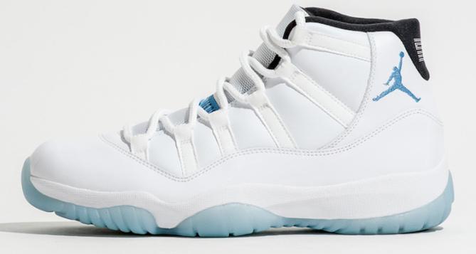 Air Jordan 11 Legend Blue Another Look