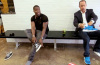 jerry seinfeld kevin hart nike air huarache undefeated