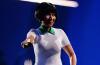 Nicki Minaj Wore Alexander Wang's Stan Smith-Inspired Dress