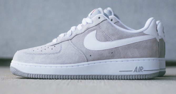 Nike Air Force 1 Low Wolf Grey White