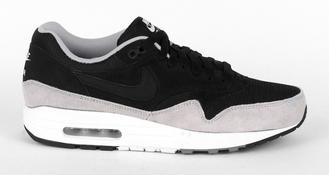 "Nike Air Max 1 Essential BlackFlat Silver Nice Kicks ""title = Nice Kicks"