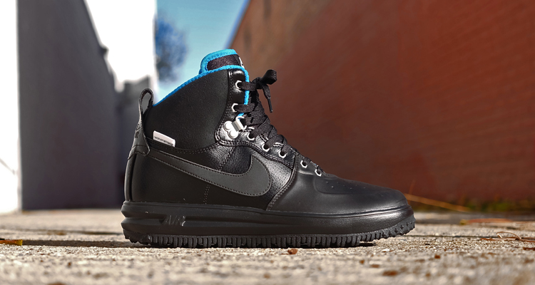 Nike Lunar Force 1 High Sneakerboot Black/Metallic Silver | Nice Kicks