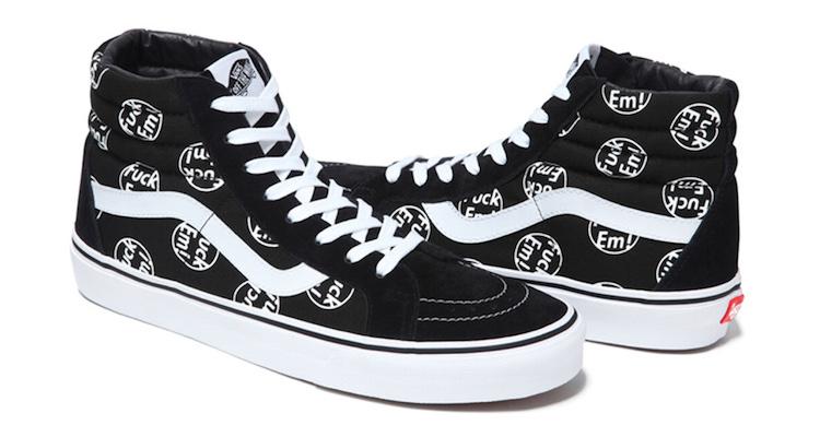 zapatos vans supreme