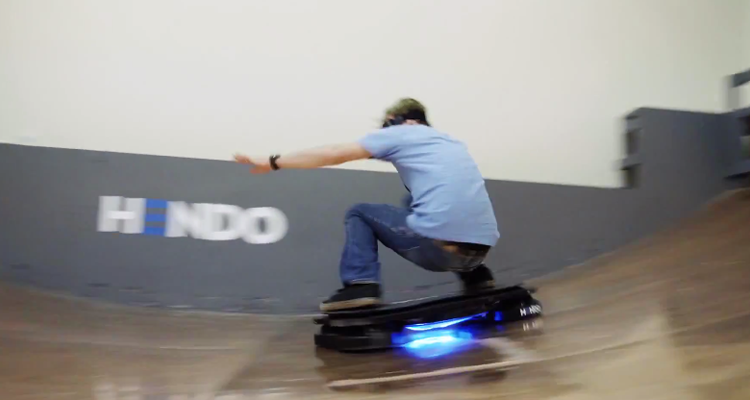 Tony Hawk Rides the Word's First Real Hoverboard