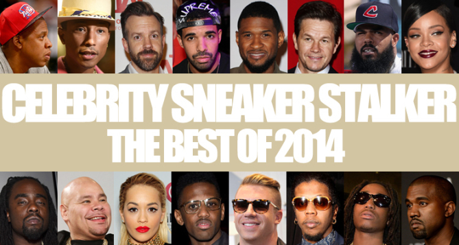 Celebrity Sneaker Stalker Best of 2014
