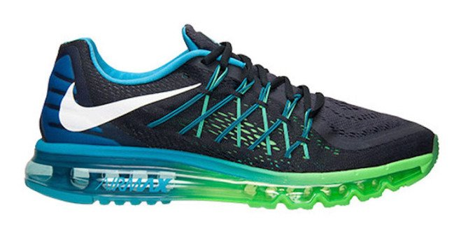 nike air max 2015 dark obsidian/blue lagoon