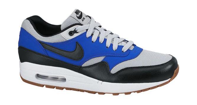ratón o rata Pico Rápido  Nike Air Max 1 Essential Grey Mist/Lyon Blue-Gum
