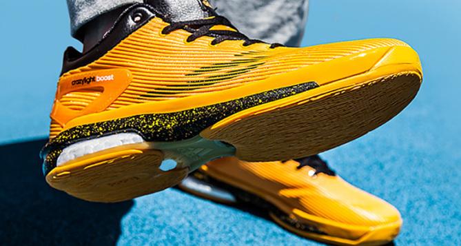 adidas Crazylight Boost Yellow/Black