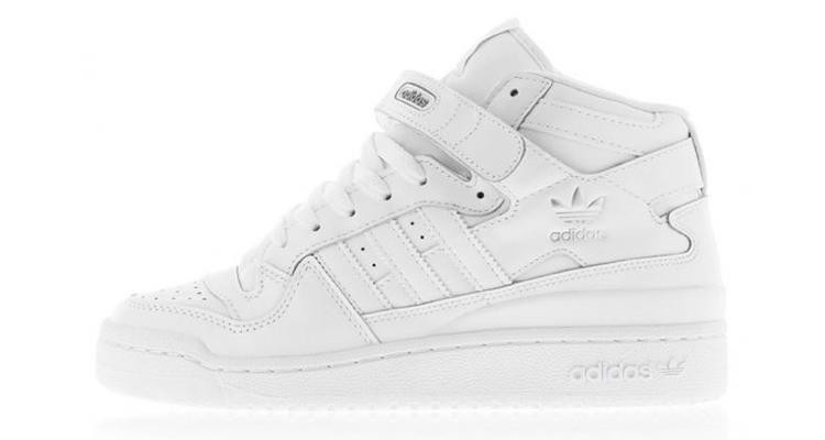adidas Forum Mid White White