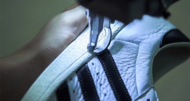 adidas Superstar Made in France video