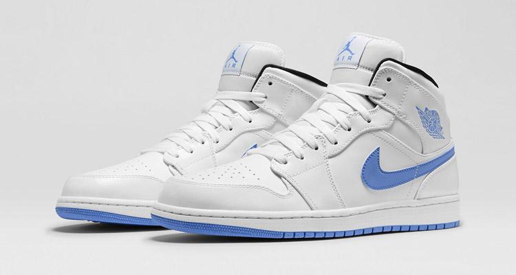 Air Jordan 1 Mid Legend Blue Available At Nike Nicekicks Com