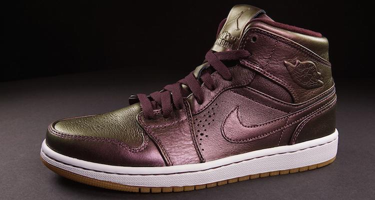 pas cher abordable réduction profiter Nike Air Jordan 1 Mi Nouveau Fleurs Bordeaux sneakernews bon marché visite à vendre eastbay en ligne tFRfex