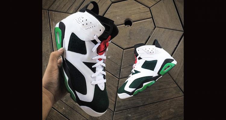 Air Jordan 6 Christmas Custom