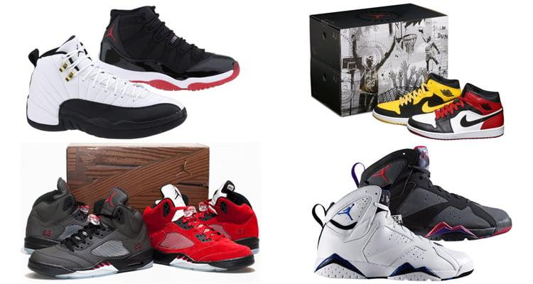 Air Jordan Paquets
