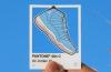 Air Jordan 11 Pantone sticker by Larry Luk