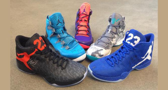 Maya Moore Previews Air Jordan PEs for Charity Auction