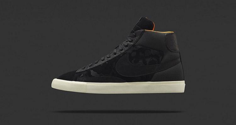 Mo Wax x Nike Blazer High SP Black release date