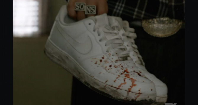 Nike Air Force 1 Spotted in 'Sons of Anarchy' Series Finale