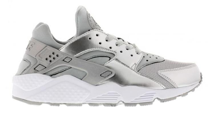 Nike Air Huarache Silver Metallic