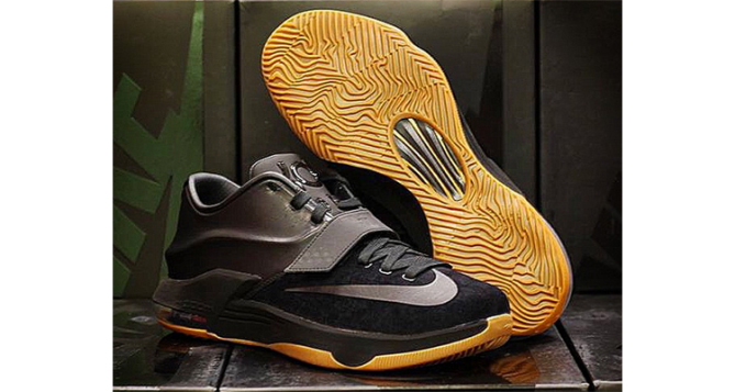 Nike KD 7 EXT Black Suede Release Date