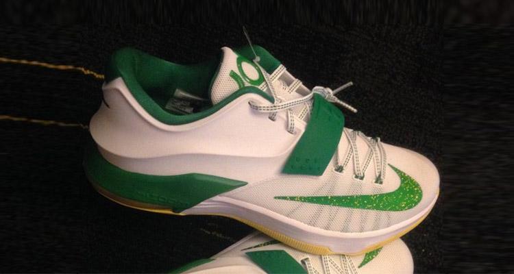 Online Cheap Nike KD 7 Oregon Ducks PE