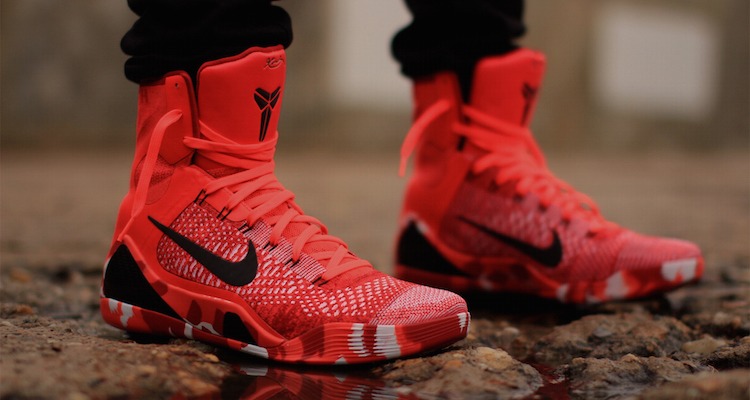 factory price dcf8b 720a4 nike kobe 9 elite high red