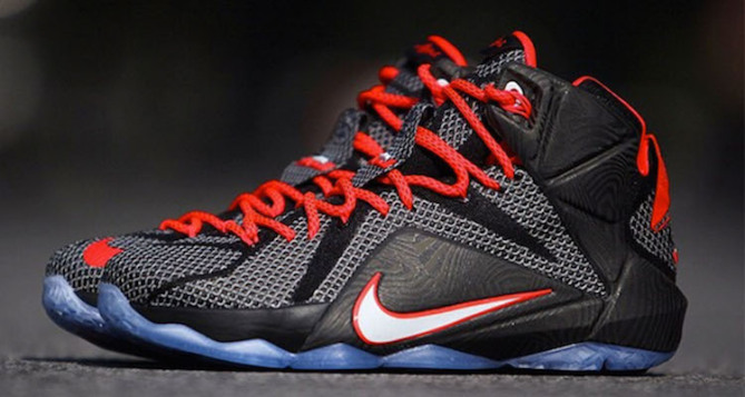 Nike LeBron 12 Black/Red Preview | Nice