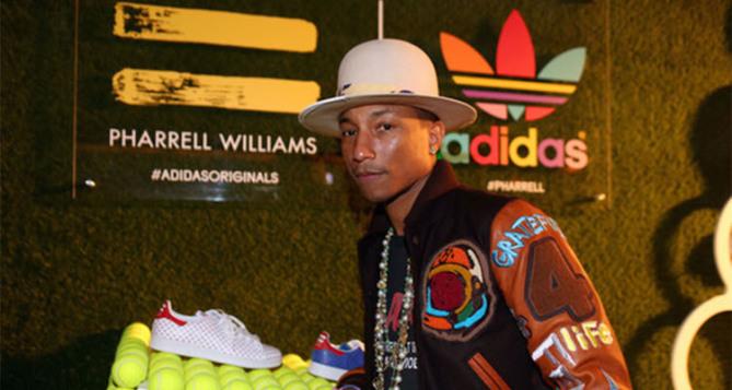 Pharrell Williams and adidas Celebrate