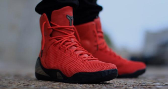 kobe 9 elite red