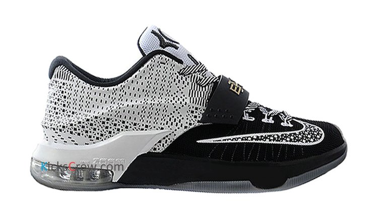 black kd shoes