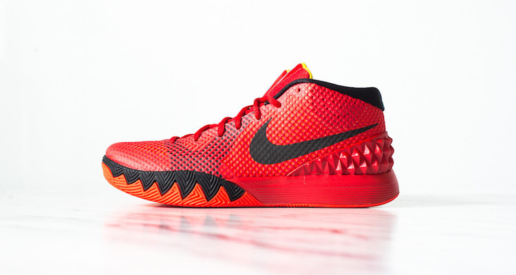 "Nike Kyrie 1 ""Deceptive Red"" - NiceKicks.com"