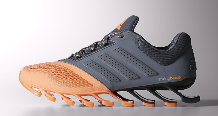 sneakers for cheap e0a7a df866 ... adidas Womens Springblade Drive 2.0 GreyFlash Orange Nice ...