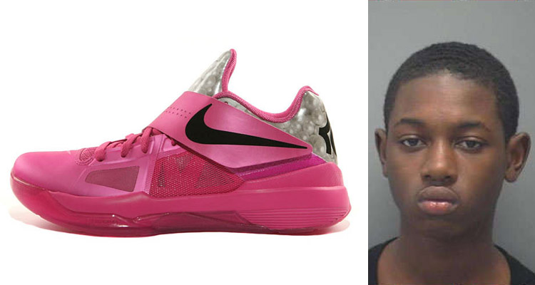 Dexion Justabe Arrested For Robbing 14 year old of Aunt Pearl KDs at knife point