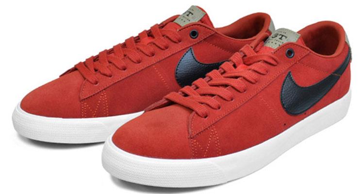 Grant Taylor x Nike SB Blazer Low Cinnabar