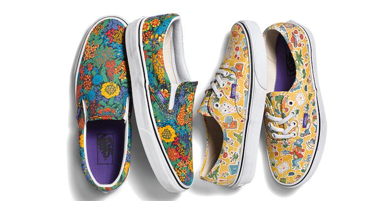 Liberty x Vans Spring 2015 Women's Collection