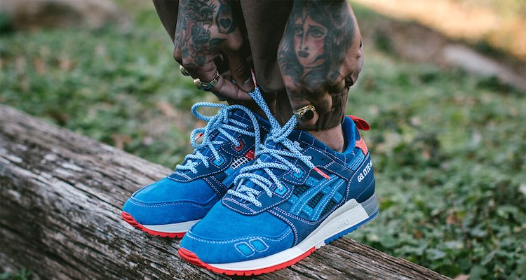 Asics Gel Lyte 3 On Feet